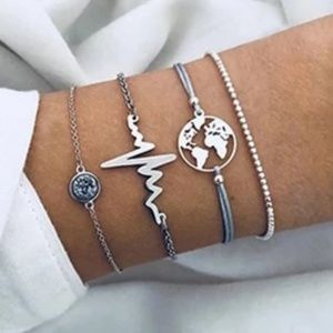 Jewelry - 4 Piece Bracelet Set